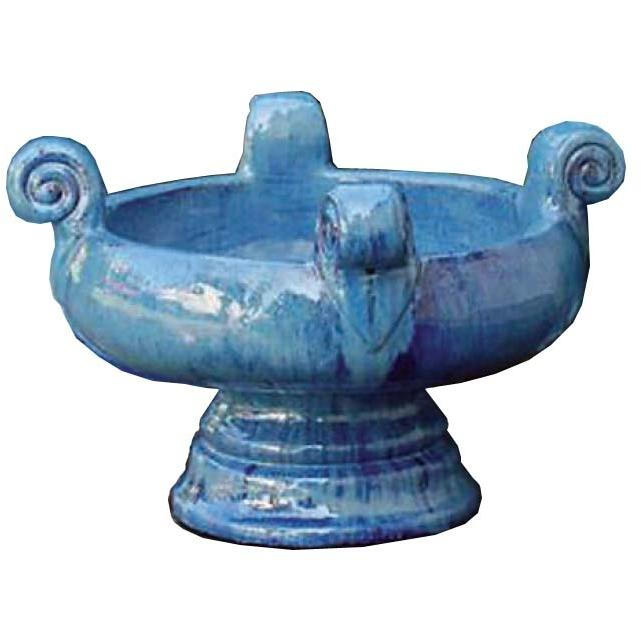 Alfresco Home Valuta Bowl - Rio Blue