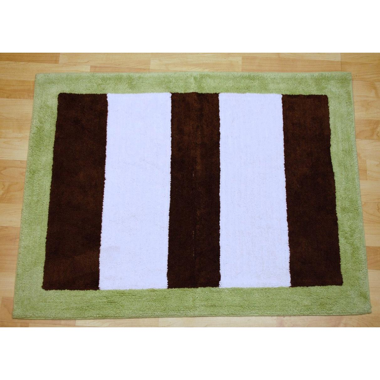My Baby Sam Rug - Lime/Turquoise