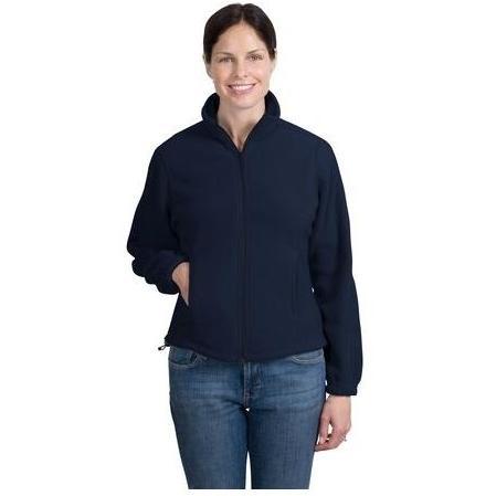 Port Authority Ladies R-Tek Full-Zip Fleece Jacket Small - Navy 2484363