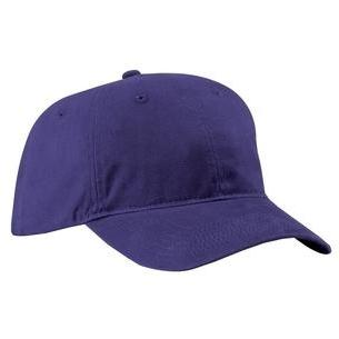 Port & Company Brushed Twill Low Profile Cap - Purple, Discount ID CP77-428633