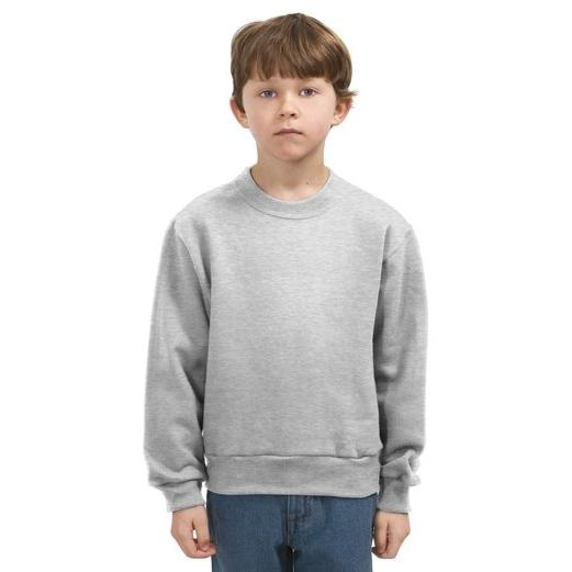 Jerzees Youth Crewneck Sweatshirt Large - Ash