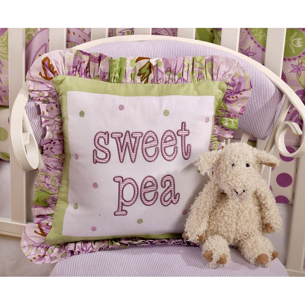 My Baby Sam Throw Pillow - Sweet Pea