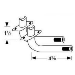 Galvanized Steel L-Shaped Venturi 76302, Discount ID 76302