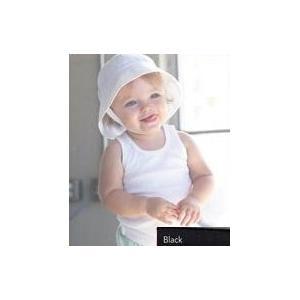 Bella Baby Infant 2x1 Rib Tank Top 12-18 Month - Black