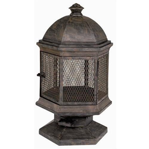 Kay Home Products Hyde Park Chimenea Fireplace