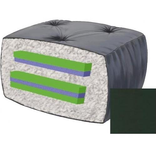 10 Inch Blazing Needles Futon Mattress - Forest Green - Ds-9608 - Forest Green