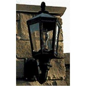 Gaslite America GL1000 Cast Aluminum Manual Ignition Natural Gas Light With Dual Mantle Burner And Standard Wall Mount