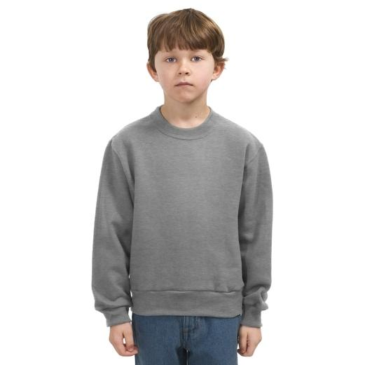Jerzees Youth Crewneck Sweatshirt Large - Oxford