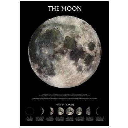 The Moon - Outer Space Poster Print