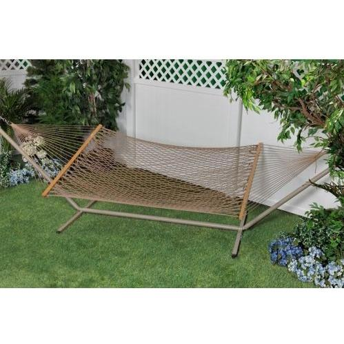 Bliss Hammocks Classic Poly Rope Hammock - Brown