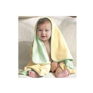 Bella Baby 1x1 Rib Reversible Blanket - Pale Yellow/Pale Green