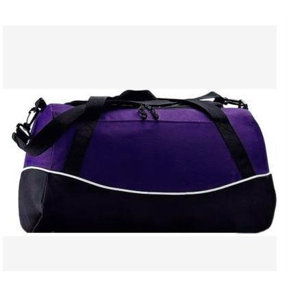 Augusta Tri-color Sport Bag - Purple/black