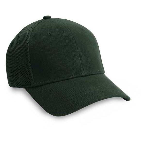 Cobra Caps Youth Stretchable Air Mesh Cap - Dark Green, Discount ID YAX-M-1008