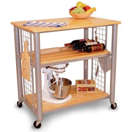 Picture of Contemporary Kitchen Cart - Metal