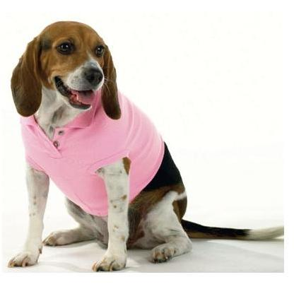 Doggie Skins Polo Shirt Large - Pink