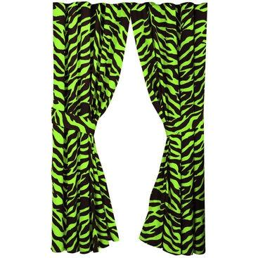 Karin Maki Window Curtain - Zebra Lime