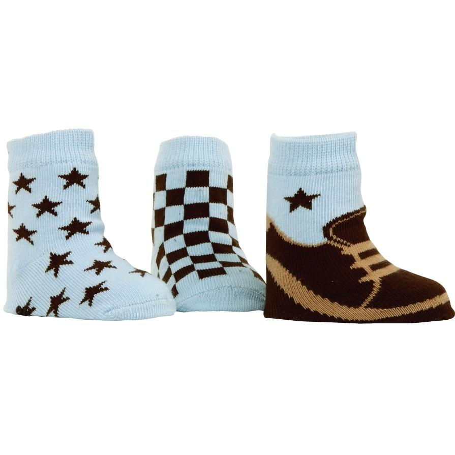 Elegant Baby Organic 3-Pair Sock Set - Choco Charlie S