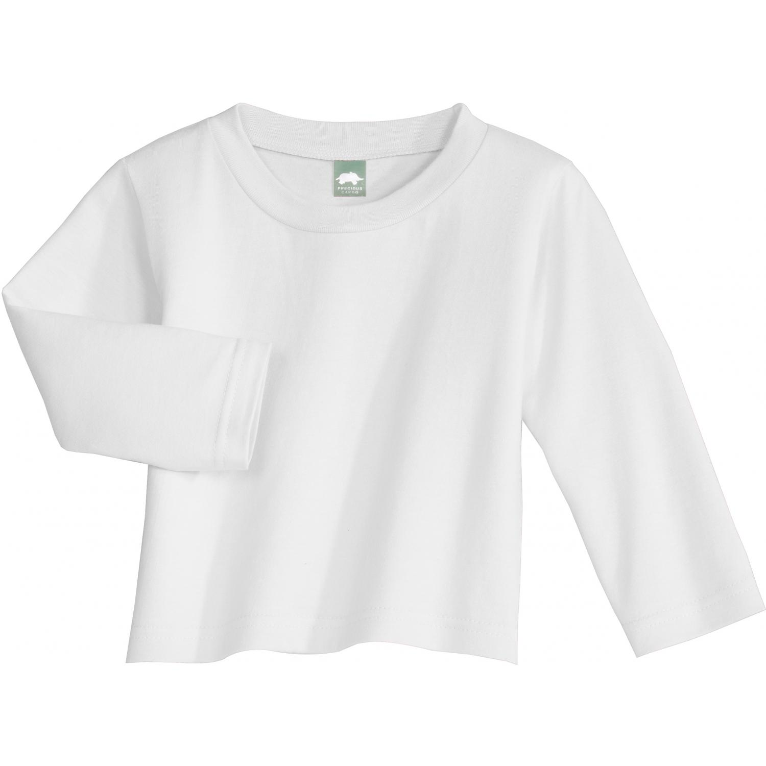 Precious Cargo Toddler Long Sleeve T-shirt 3t - White
