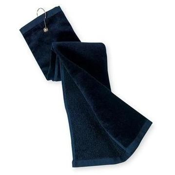 Port Authority Grommeted Tri-Fold Golf Towel - Navy