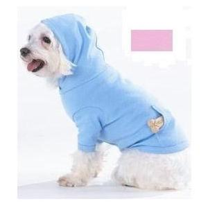 Doggie Skins Pouch Pocket Hoodie Small - Pink