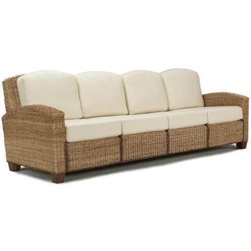 Home Styles Cabana Banana 4 Section Sofa - Honey - 5401-63