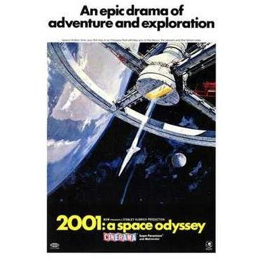2001: A Space Odyssey Poster Print