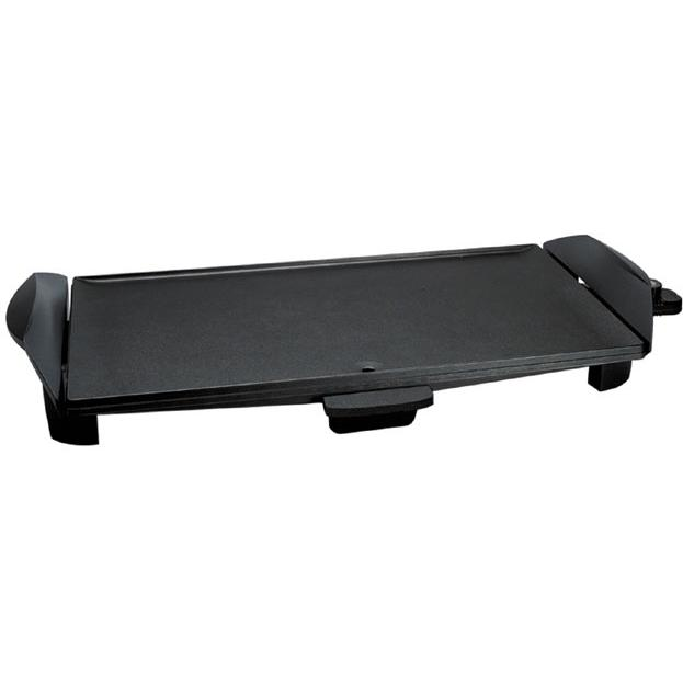 Broilking Model USG-10 Ultra Large Griddle W/ Healthy Lift - Black