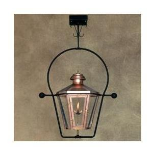 Legendary Lighting Apollo 1 Copper Natural Gas Light With Yoke Bracket