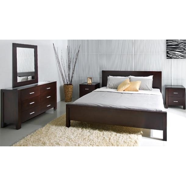 Picture of Abbyson Living Porter 5PC King Bedroom Set Cappucino HM-5000-KG5