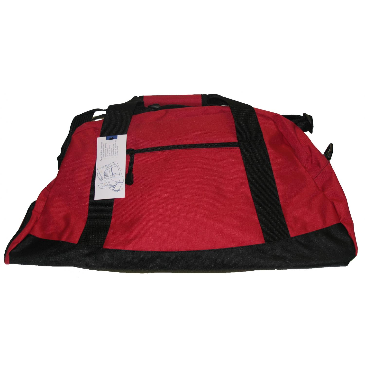 Port Authority Large Duffel Bag - Red