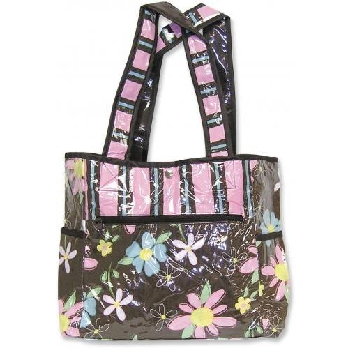 Trend Lab Tulip Tote Diaper Bag - Blossoms