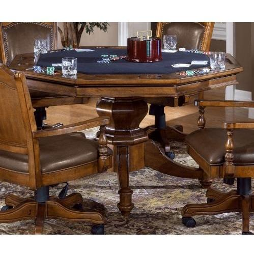Hillsdale Nassau Game Table Base - Brown - 6060GTB