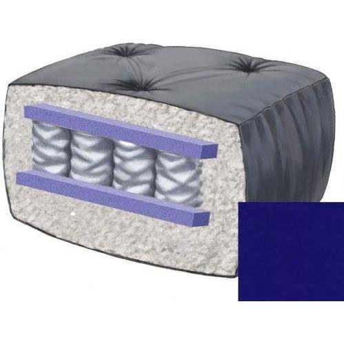10 Inch Blazing Needles Perfect Pocket Coil Futon Mattress - Royal Blue - DS-9662 - Royal Blue