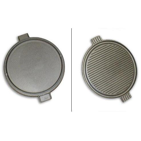 Cast Iron Reversible Round Griddle 14 Inch
