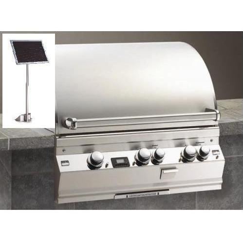 Fire Magic Gas Grills Echelon E660i All Infrared Propane Gas Built-In Grill With Solar Panel