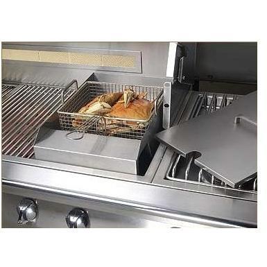 Alfresco Steamer & Fryer Gas Grill Accessory
