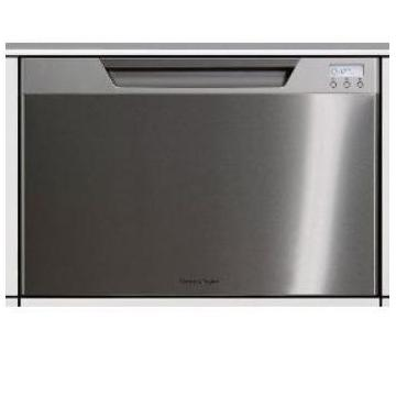 Fisher Paykel Dishwashers Single DishDrawer With Recessed Handle Dishwasher - Stainless Steel