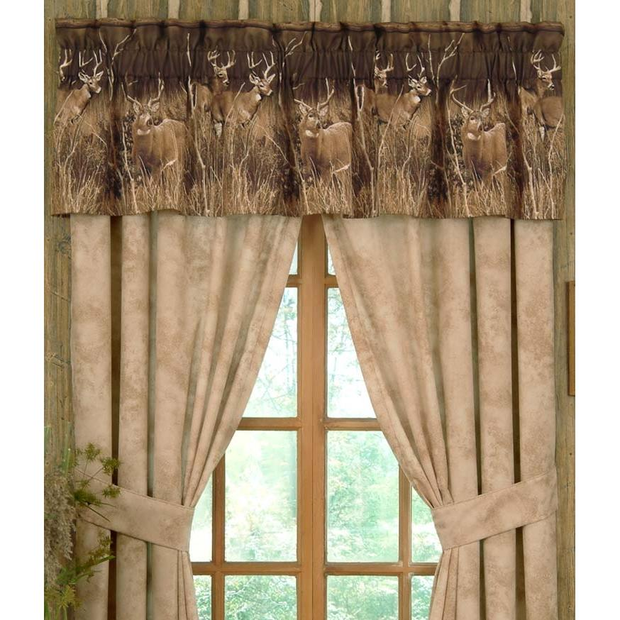 Blue Ridge Trading Window Valance - Deer Meadow