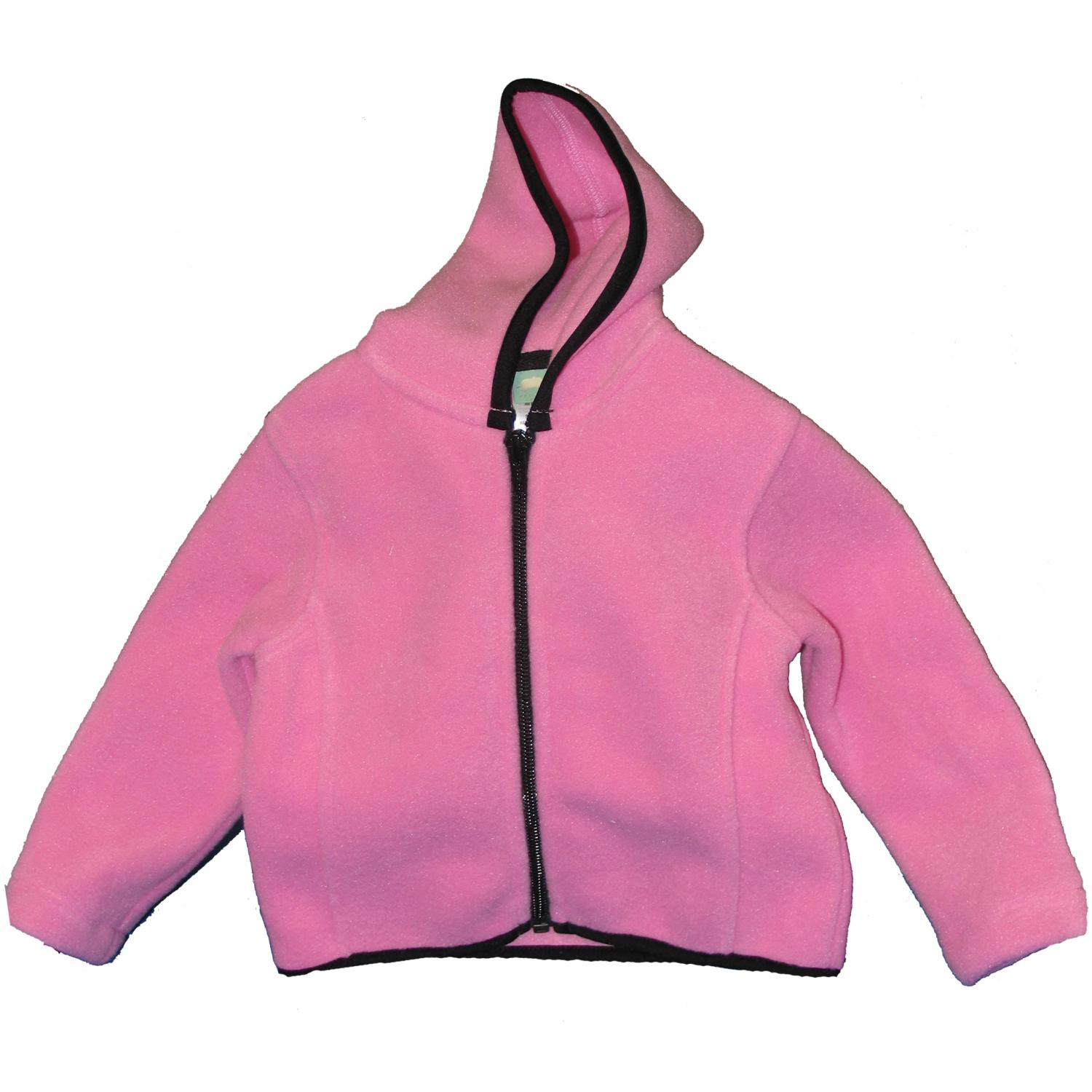 Precious Cargo Infant R-tek Fleece Full Zip Jacket 24m - Candy Pink