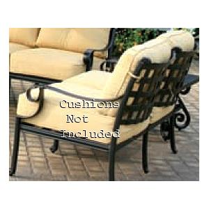 Alfresco Home Chateau Deep Seating Love Seat - Antique Topaz