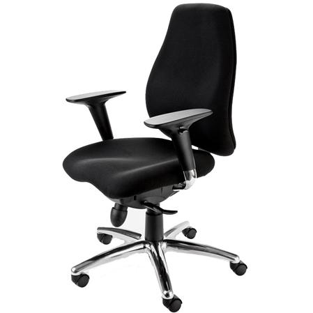 Mac Motion Black Office Chair - CTF-3140-A-AB
