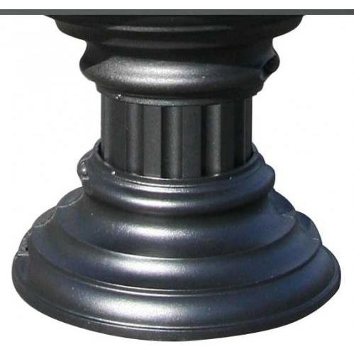 Regency SHORT Decorative Pedestal Wrap - Black