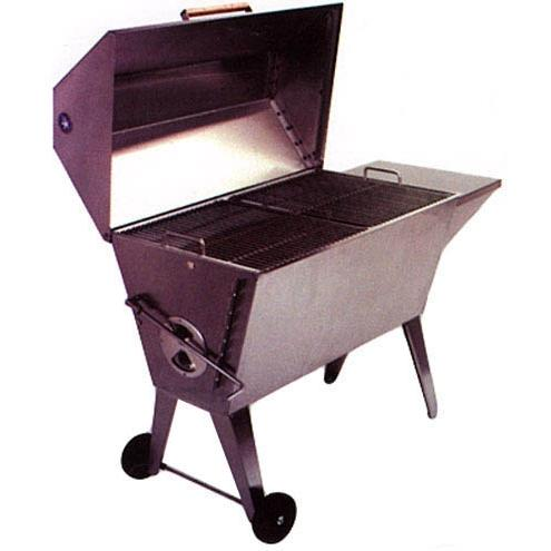 Cajun Grill Super BBQ Charcoal Grill - Stainless Steel