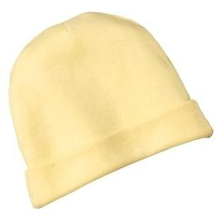 Precious Cargo Infant Rib Knit Beanie - Yellow
