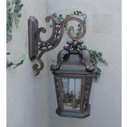 Gallery Series Lighting Arigance Bronze Cast Aluminum Electric Light