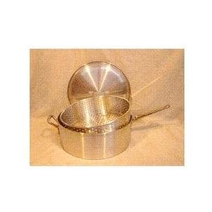 Cajun Cookware Pots With Basket And Lid 14 Inch Aluminum Fry Pot