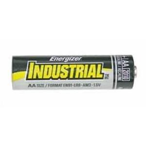 Eveready Energizer Batteries Industrial Alkaline Batteries - AA, 12 Pack
