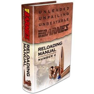 Barnes Bullets Barnes Reloading Manual 4