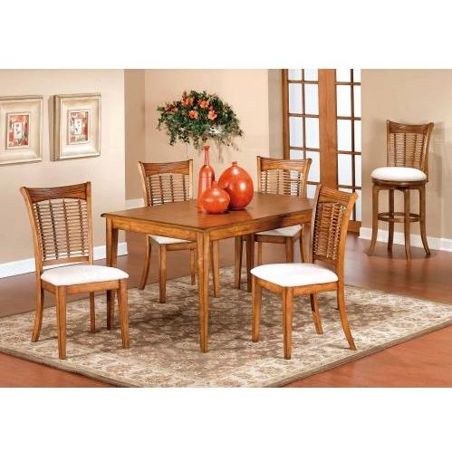 Hillsdale Bayberry 5-piece Rectangle Dining Set - Oak - 4766dtbcrct