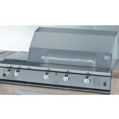 ProFire Professional Series 48 Inch Natural Gas Grill With Double Side Burner - Built-In 2542053